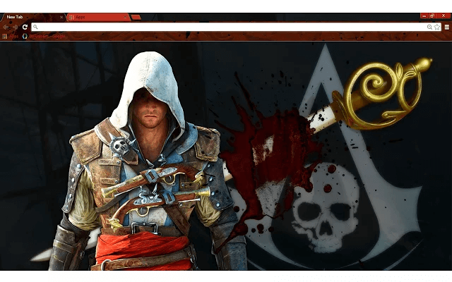 Assassin's Creed Edward Google Chrome Theme