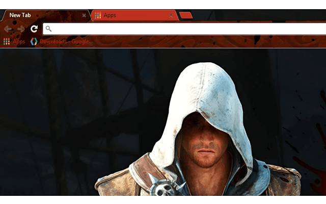 Assassin's Creed Edward Google Theme
