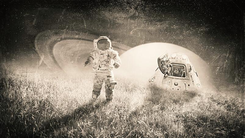 Astronaut Google Background ...