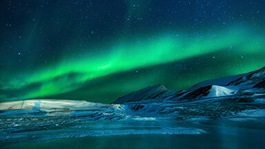 Aurora Borealis Chromebook Wallpaper
