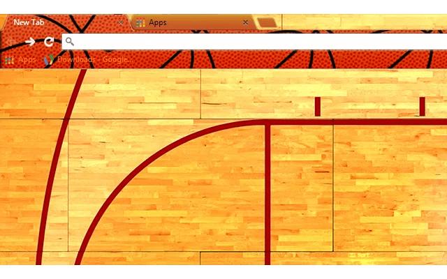 Basketball Google Theme