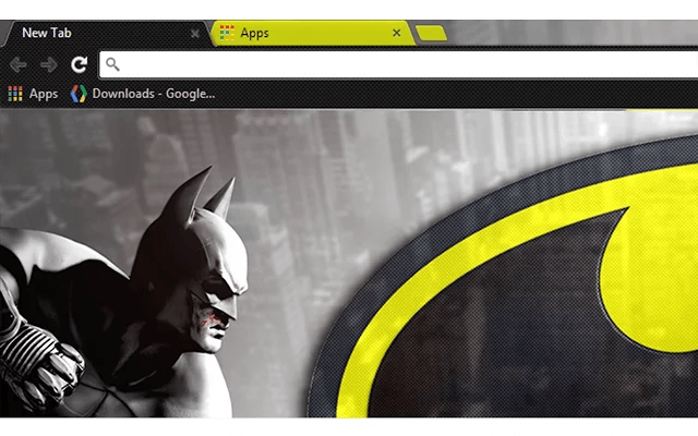 Batman Google Theme