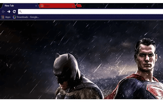 Batman vs Superman Google Theme