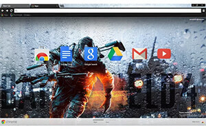 Battlefield 4 Storm Chrome Theme