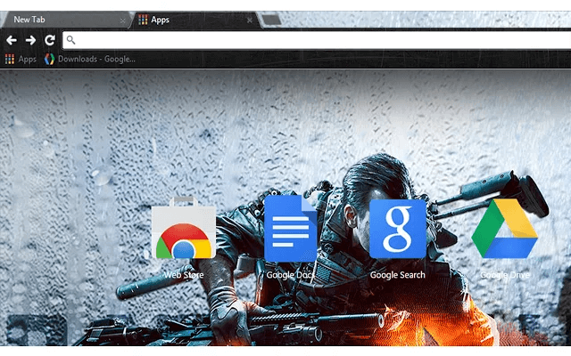 Battlefield 4 Storm Google Theme