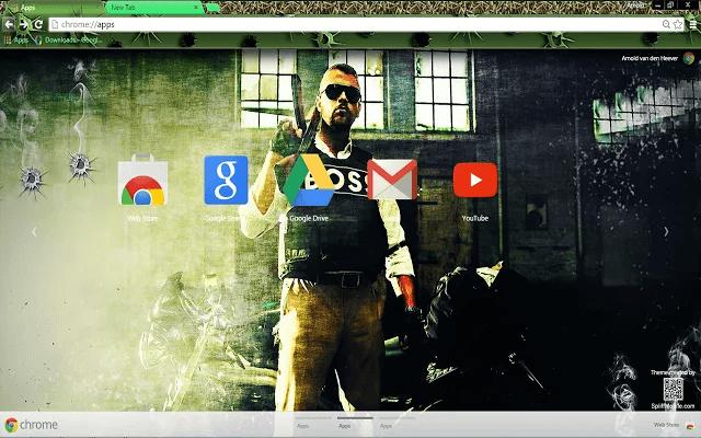 Battlefield Hardline Boss Chrome Theme