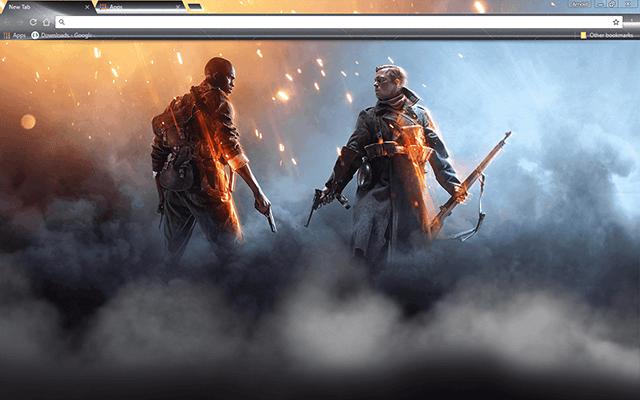Battlefield 1 Google Chrome Theme