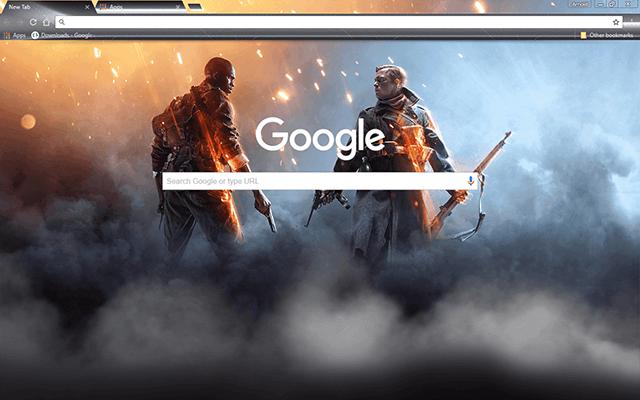 Battlefield 1 Google Theme