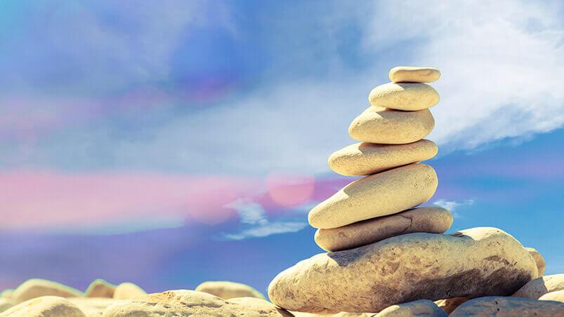 Beach Stone Stack Google Background ...