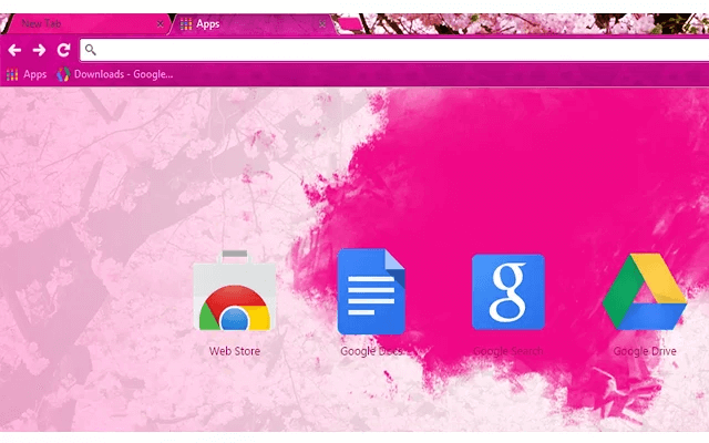Beautiful Pink - Google Homepage