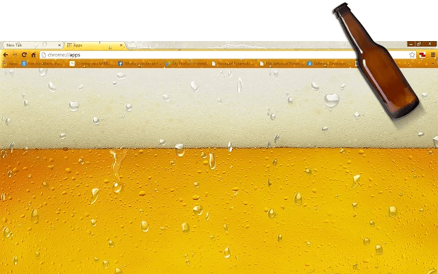 Beer Google Chrome Theme