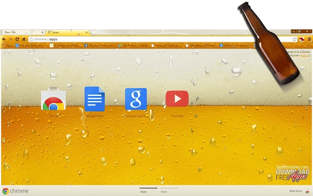 Beer Google Theme