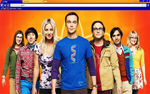 Big Bang Theory Chrome Theme