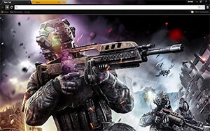 Black Ops 3 Chrome Theme