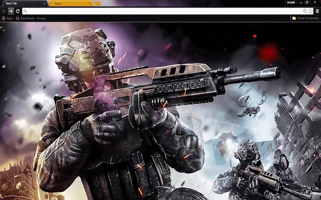 Black Ops 3 Google Chrome Theme