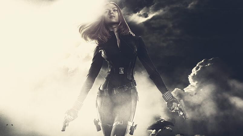 Black Widow Google Background ...