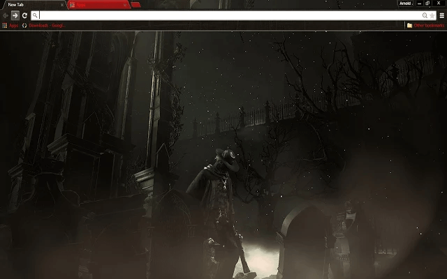 Bloodborne Google Chrome Theme