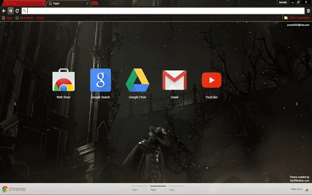 Bloodborne Google Theme