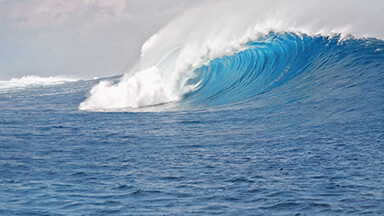 Blue Sea Waves Google Background