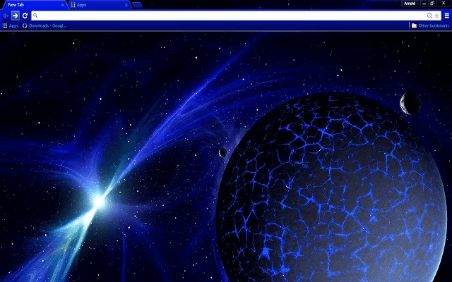 Blue Space - HD Background