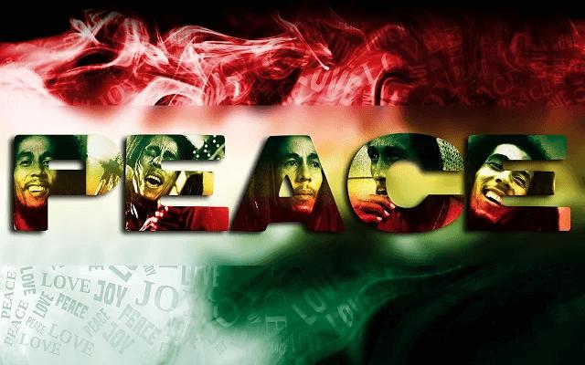 Bob Marley HD Google Chrome Theme