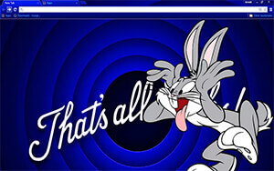 Bugs Bunny Chrome Theme