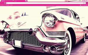 Cadillac Chrome Theme