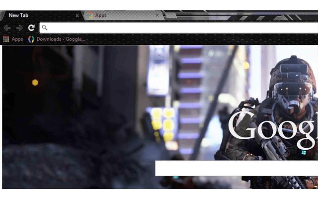 Call of Duty Advanced Warfare Chrome Theme