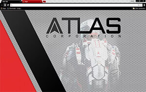 Call Of Duty Atlas Chrome Theme