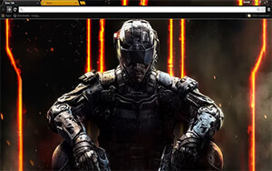Call Of Duty Black Ops 3 Chrome Theme