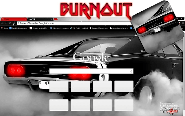 Dodge Charger - Google Homepage