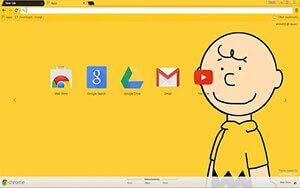 Charlie Brown Chrome Theme