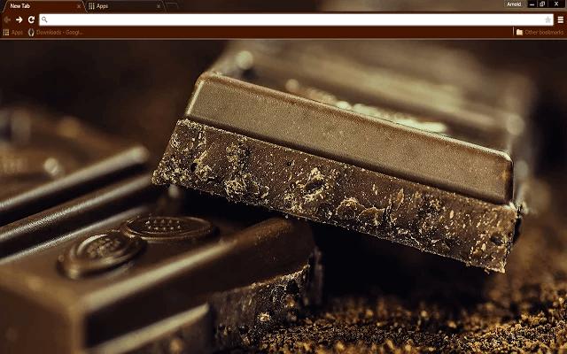Dark Chocolate Google Chrome Theme