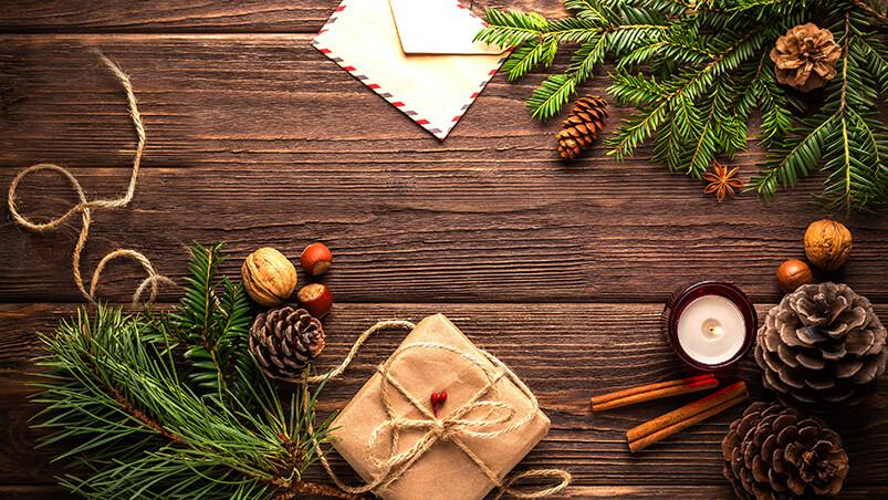 Christmas Table Google Background ...