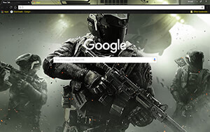 Call Of Duty Infinite Warfare Chrome Theme