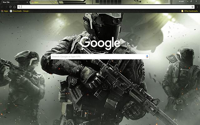 Call Of Duty: Infinite Warfare Google Theme