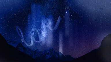 Cosmic Love Sign Google Background