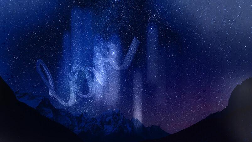 Cosmic Love Sign Google Background ...
