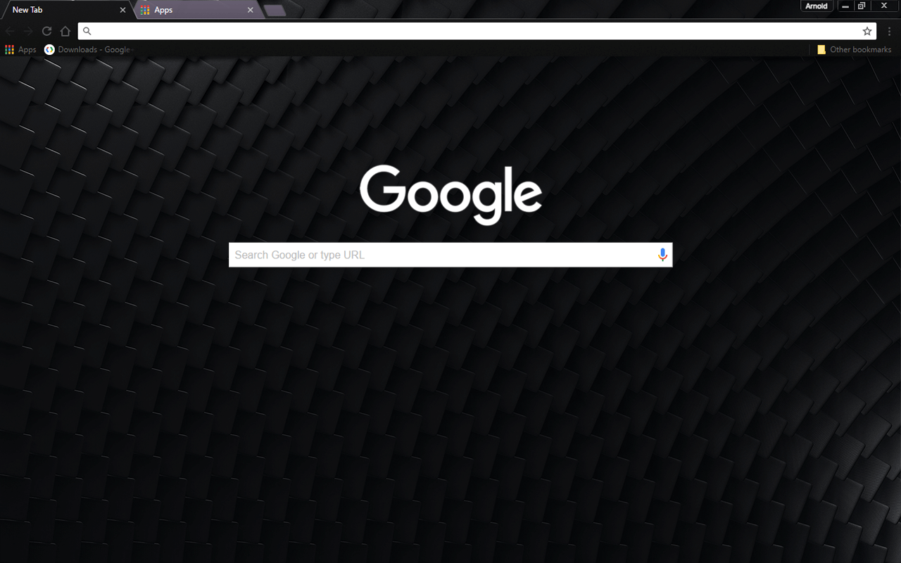 Dark Paladin Chrome Theme