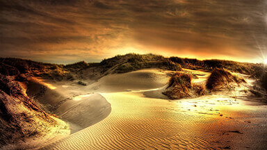 Dusky Sand Dunes Chromebook Wallpaper