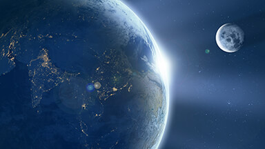 Earth From Space Google Background