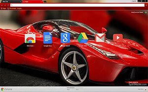 Ferrari Chrome Theme