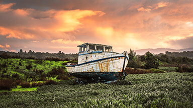 Fishing Boat Google Background