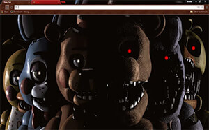 Five Nights At Freddy's Chrome Theme