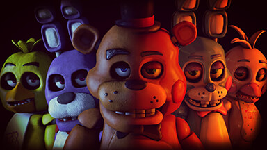 Five Nights At Freddys Google Background