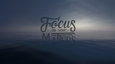 Focus On What Matters Google Background