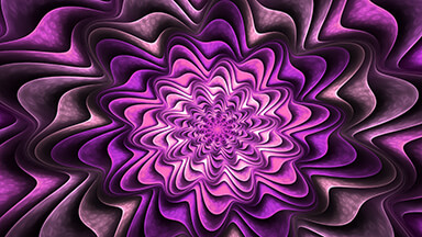 Fractal Purple Google Background