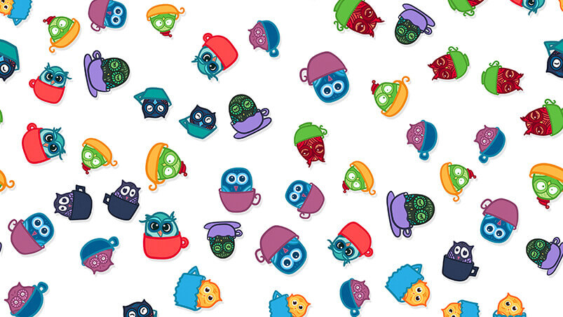 Funny Owls Chromebook Wallpaper ...