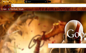 God Of War HD Chrome Theme