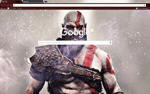 God Of War Chrome Theme